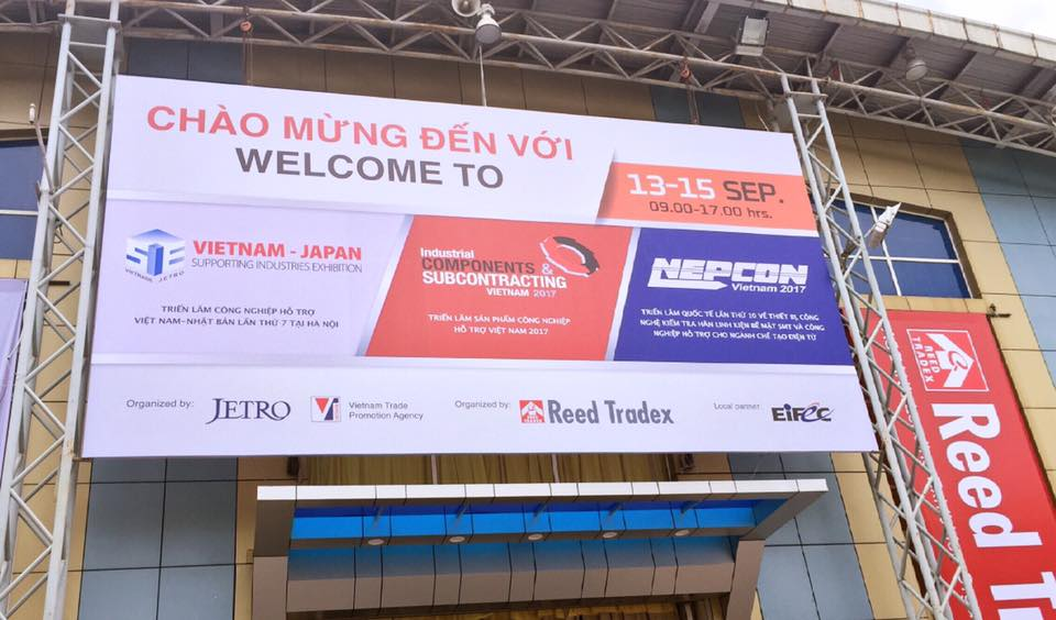 SEIKI exhibition in Vietnam-Japan Supporting Industries 2017