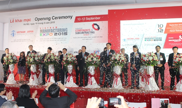 Vietnam-Japan Exhibition on Supporting Industries 2015